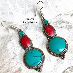 SALE ✨Tibetan Turquoise Earrings✨
